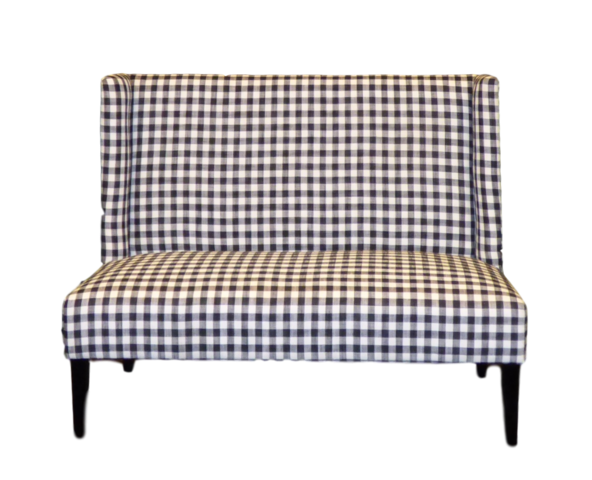Chairs - Checkered Love Seat