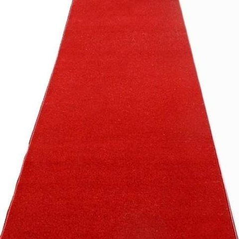 Runner and Rugs - 6' x 10' Red Carpet Runner