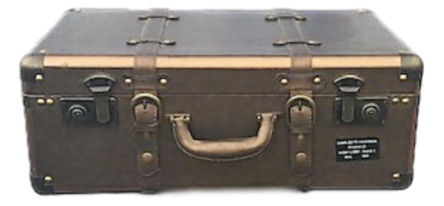 Prop - Suitcase - Small - Leather