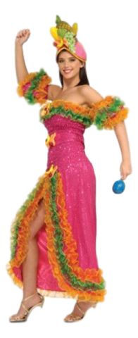 Costume - Carmen Miranda Fruit Hat Lady