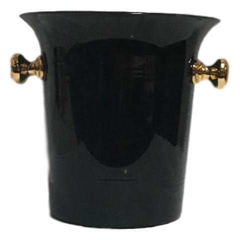 Catering - Black and Gold Ice Bucket