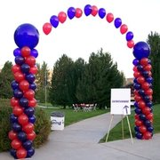 Balloon Archway Entrance