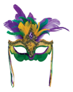 Mardi Gras Mask Decorating