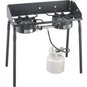 Duel Burner Propane Outdoor Stove Grill