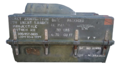 Rocket Ammunition Container