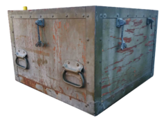 Military Ammo Storage Container