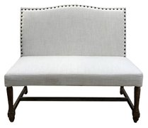 Cloth Love Seat  Bench