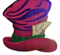 Mad Hatter Hat Flat