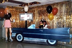 1950's Car Hop Decor