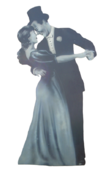 1920's Dancing Couple Prop