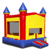 Bounce House - Red and Yellow Castle