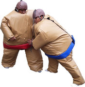Inflatable - Sumo Wrestling Suits & Mat