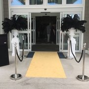 Black & Gold Entrance