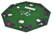 Layout Poker Table Top