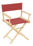 Red Director's Chair