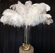 Feathers & Pearls Centerpiece