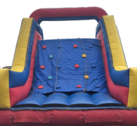 Inflatable - 18' Slide with Rock Wall Climb Combo