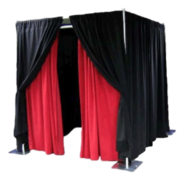 - Pipe and Drape Photo Booth