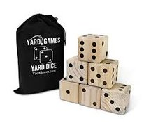 Giant Dice Game - Yard Zee