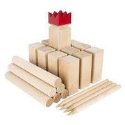 Kubb - A Swedish Wooden Game Set