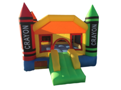 Inflatable - Toddler Crayon Bounce House