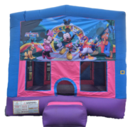 Bounce House - Pink & Blue