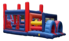 Inflatable - 35' Obstacle Course