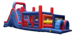 Inflatable - 67' Obstacle Course