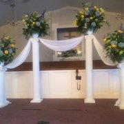 Columns for Wedding Ceremony