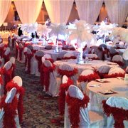 Red & White Gala or Prom Theme