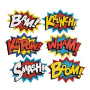 Comic Signs - BOOM, ZAP, POW, & MORE