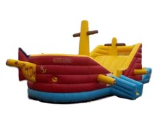 Inflatable - Pirate Ship Combo