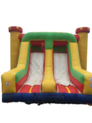 Bounce House & Duel Slides