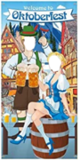 Oktoberfest 2 Person Portrait Photo Front