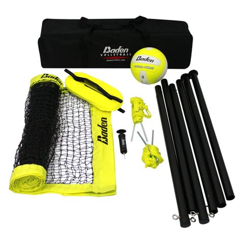 Yard Games - Volleyball & Badminton Set