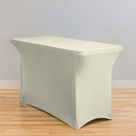 Ivory Spandex- 4ft Table