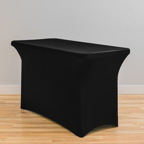 Black Spandex- 4ft Table