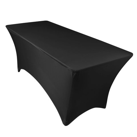 Black Spandex 6ft Table