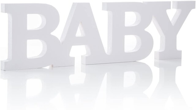 BABY- Table Sign