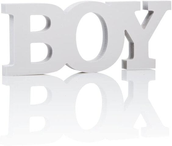 BOY- Table Sign