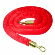 6ft Red Velvet Rope