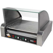Hot Dog Grill w/ Glass Hood option