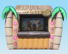 Inflatable Tiki Bar Package