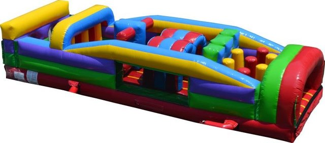 30FT Retro Zone Obstacle Course