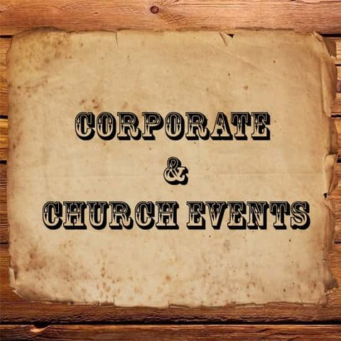Corporate or Church Events