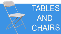 Tents, Table & Chair Rentals