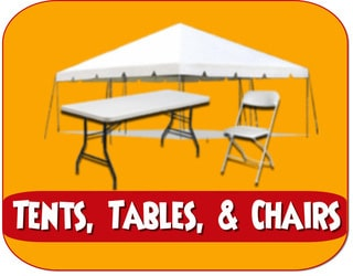 Tents Tables and Chair Rentals