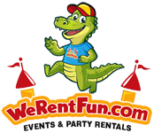 We Rent Fun Logo