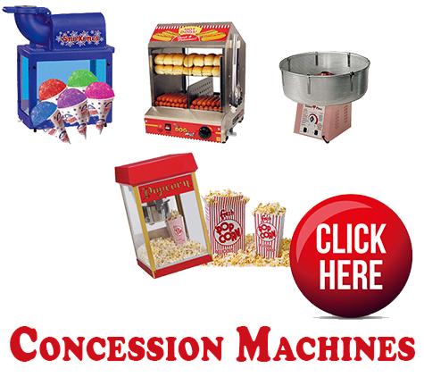 Food Concessions Machines Rentals In Miami