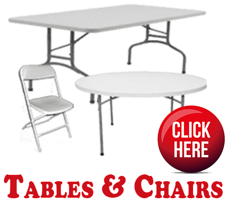 Table and Chair Rentals Miami